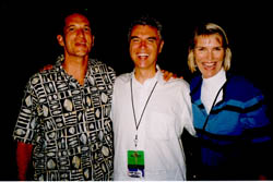 Dan Goese, David Byrne, Katie Gallagher